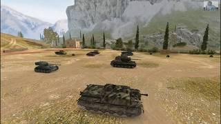 Танк АТ8 нормальный бой получился.