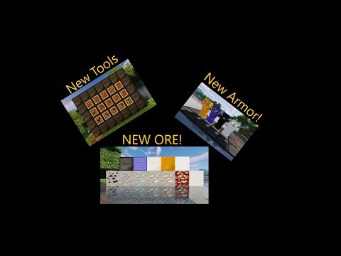 Minecraft: A FEW MORE ORES MOD SHOWCASE!!!