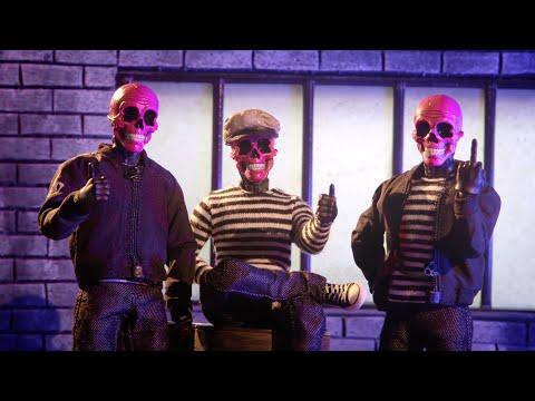 One:12 Collective Rumble Society - Pink Skulls Chaos Club | Mezco Toyz