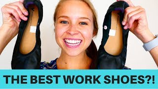 Best Shoes For Work?! | Vivobarefoot Flats Review | Travel With Me!