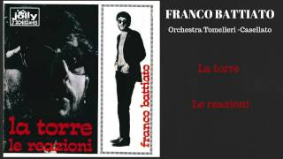 J 20410x45 - Franco Battiato -  La torre - Le reazioni  - 1967