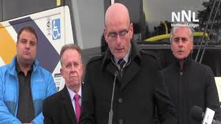 Northwestern ONTARIO Bus Transportation Announcement