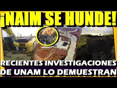 DIABLO SE TRAGA OBRA CORRUPTA ¡ NAIM EN TEXCOCO SE ESTA HUNDIENDO ! AMLO TENIA RAZON