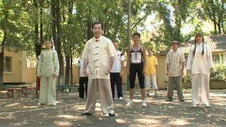 Смотреть онлайн Китайская гимнастика Ушу, упражнения
