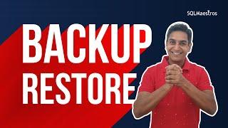 SQL Server Backup & Restore by Satya Ramesh