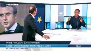 Interview de Patrice Franceschi par TV5 Monde