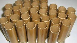 Снаряжение патронов в папковые гильзы.