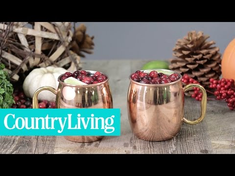 Cranberry Moscow Mule | Country Living