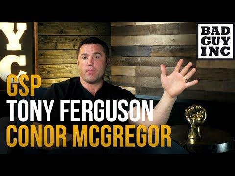 Who is more deserving…Tony Ferguson, GSP or Conor McGregor?