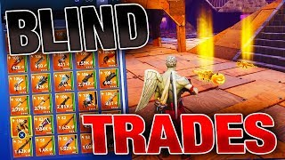 Best BLIND TRADES with RICHEST Inventory EVER! | Fortnite Save the World