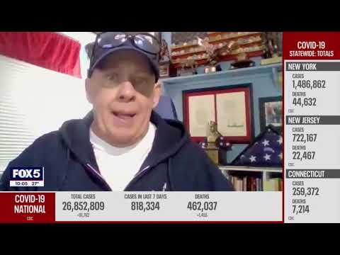 John Feal of the FealGood Foundation Discusses Expanding Vaccine Eligibility to the 9/11 Community Video Thumbnail
