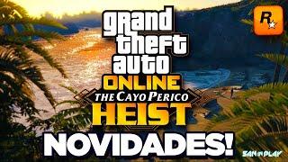 GTA Online: TUDO SOBRE a NOVA DLC - Expansão de Mapa, Data e Muito mais! | DLC The Cayo Perico Heist