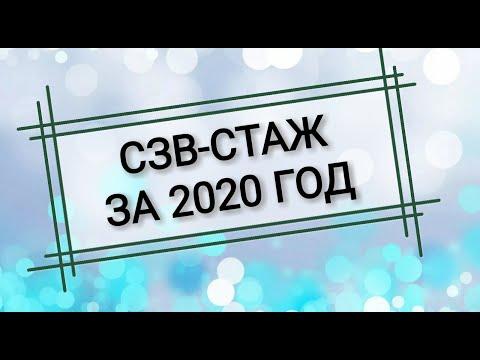 СЗВ-СТАЖ отчет за 2020 год в Пенсионный фонд. Анкета АДВ-1. Получение СНИЛС на сотрудника.