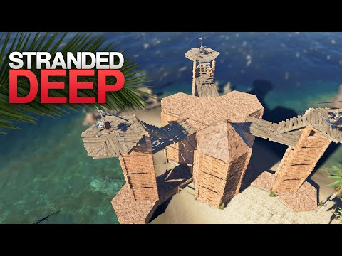 THE CASTLE IS DONE! Stranded Deep S4 Episode 23