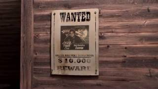 Wanted Reward Poster Intro