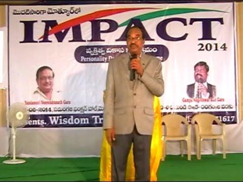 Soft Skills | BV Pattabhiram |  TELUGU IMPACT