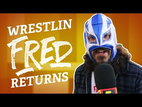 FRIDAY NIGHT FRED: Wrestlin' Fred at WWE Monday Night RAW! (Episode 1)