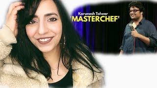 Pakistani Reacts To | Masterchef | Stand Up Comedy By Karunesh Talwar