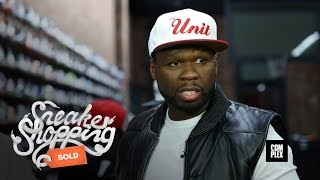50 Cent Goes Sneaker Shopping With Complex