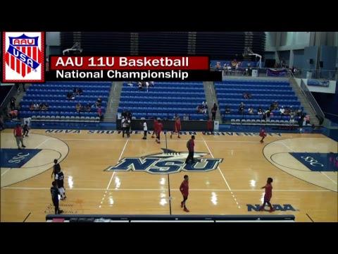 AAU 11U Basketball National Championship Bracket Play - July 26th