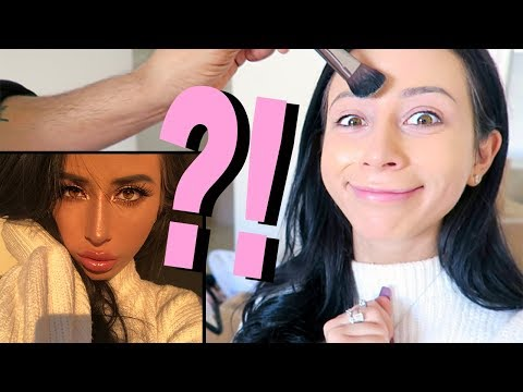 CELEBRITY MAKEUP ARTIST DOES MY MAKEUP!