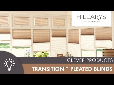 Hillarys Day & Night Transition™ Pleated blinds YouTube video thumbnail
