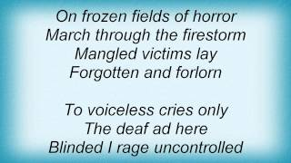 Dismember - On Frozen Fields Lyrics
