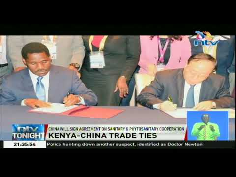 China to sign agreement on sanitary and phytosanitary