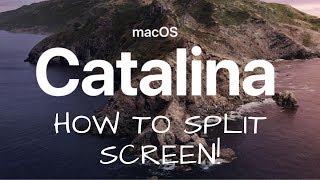 How to split screen in Mac - OS Catalina