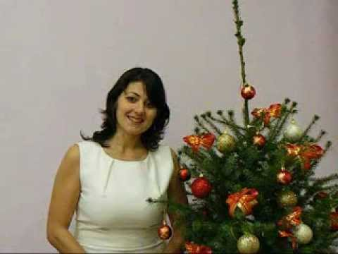 Новогодишни поздравления от Мария Чавдарова