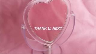 thank u, next / ariana grande (sub español)