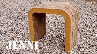 HOW TO MAKE A CARDBOARD CHAIR  / Interior Design