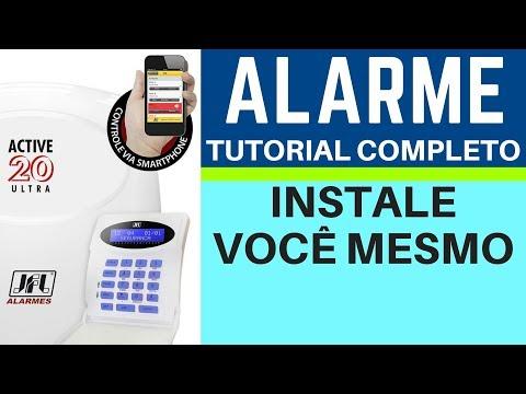 Alarme Instale Você mesmo!  Tutorial Completo - Alarme Residêncial - Alarme Comercial