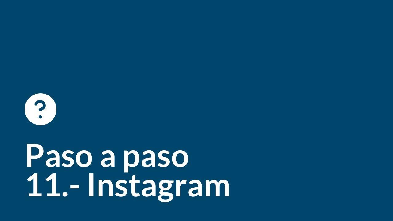 Crea tu web desde cero paso a paso   Capítulo 11    Instagram para tu negocio