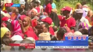 Uhuru completes Coast tour by taking campaigns to Tana River