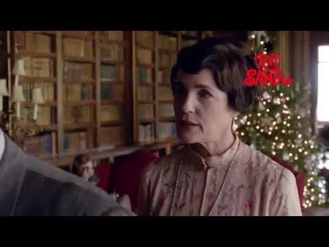 Downton Abbey (Christmas Sketch 'Text Santa' Clip)