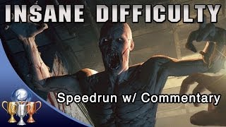 Outlast - Insane Difficulty Mode Speedrun W/ COMMENTARY (Full Game Walkthrough) Lunatic