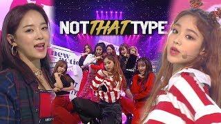gugudan(구구단) - Not That Type @인기가요 Inkigayo 20181111