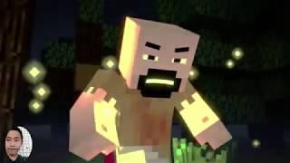 ♫NETHER REACHES Notch vs Herobrine - Minecraft Fight Animation