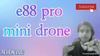 E88 Pro wifi FPV quadcopter REVIEW... watch this now