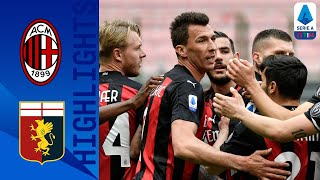 Milan 2-1 Genoa | Rebic Hits a Brilliant Volley as Milan Win at the San Siro! | Serie A TIM