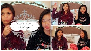 Christmas Song Challenge w/ MsSayJuan || Rolyn Juan