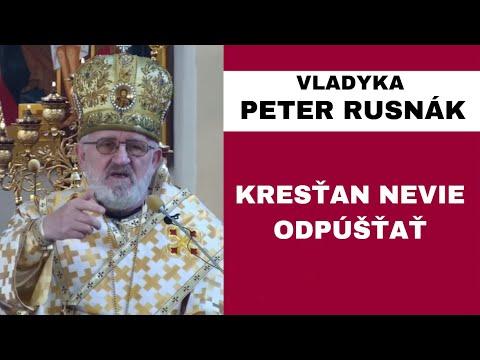 HOMÍLIA - VLADYKA PETER RUSNÁK - Biblia sa pekne počúva a číta, ale skutek utek
