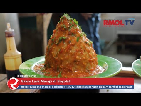 BAKSO PEDAS!! Bakso Lava Merapi di Boyolali