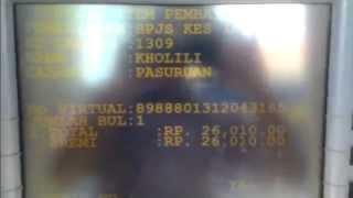 Cara Bayar BPJS Via ATM Mandiri