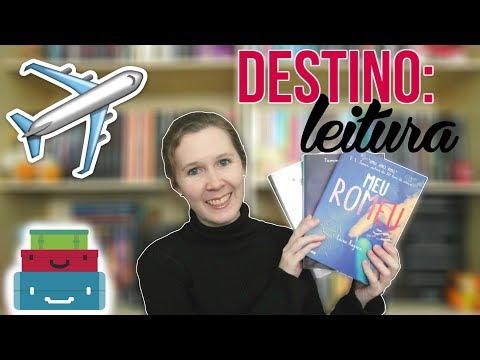 VEDA #9 | Livros para ler em viagens | Leituras de Deni