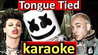 Tongue Tied   Marshmello, YUNGBLUD, Blackbear   Karaoke By SoMusique