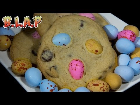 Cadbury Mini Egg Cookies Recipe – Easter egg chocolate chip cookies