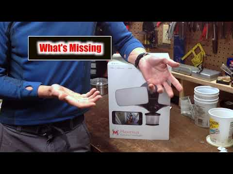 Maximus Camera Floodlight Review with Kuna App - Things to know... by BalanR
