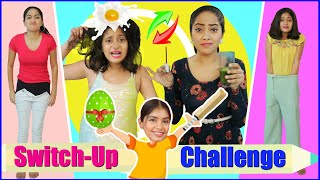 "Subscribe to our channel https://rb.gy/hqkwoj  We just love to entertain you a lot everytime we tried so many new things to bring smile on your face in new way so today we came up sweet & lovely MyMissAnand with switch up dare challenge.  Surely you all gonna have so much fun while watching this video and show your love by giving us gift of 10 Million Subscribers Family...  If you enjoyed the video Don't forget to LIKE & SHARE. And do SUBSCRIBE if you are new to my Channel and give us a gift 10 Million family.  CREDITS :- Creative Head: Shruti Anand Directed By : Vikram Choudhary DOP : Vikram Choudhary Assistant Director : Sonu Gairy Edited by : Shubham Raj Verma Presented By  : Bharti Singh, Anantya Anand, Jeetu Shri Social Media : Komal Sharma  ~ Love ♥ Anaysa ♥   NEW UPLOADS every Friday @5:30 pm  AUDIO DISCLAIMER/CREDITS – ""Music from Epidemic Sound (http://www.epidemicsound.com)"" DISCLAIMER: The information provided on this channel and its videos is for general purposes only and should NOT be considered as professional advice.  #Anaysa #SwitchupChallenge #DareChallenge #Challenge  #BeautyHacks #LifeHacksandTips #AnaysaHacks  #ViralHacks"